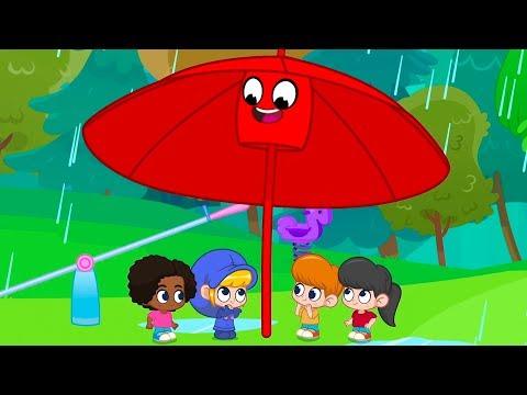 Rain Rain Go Away | Kids Cartoons | Songs and Lullabies | Mila and Morphle