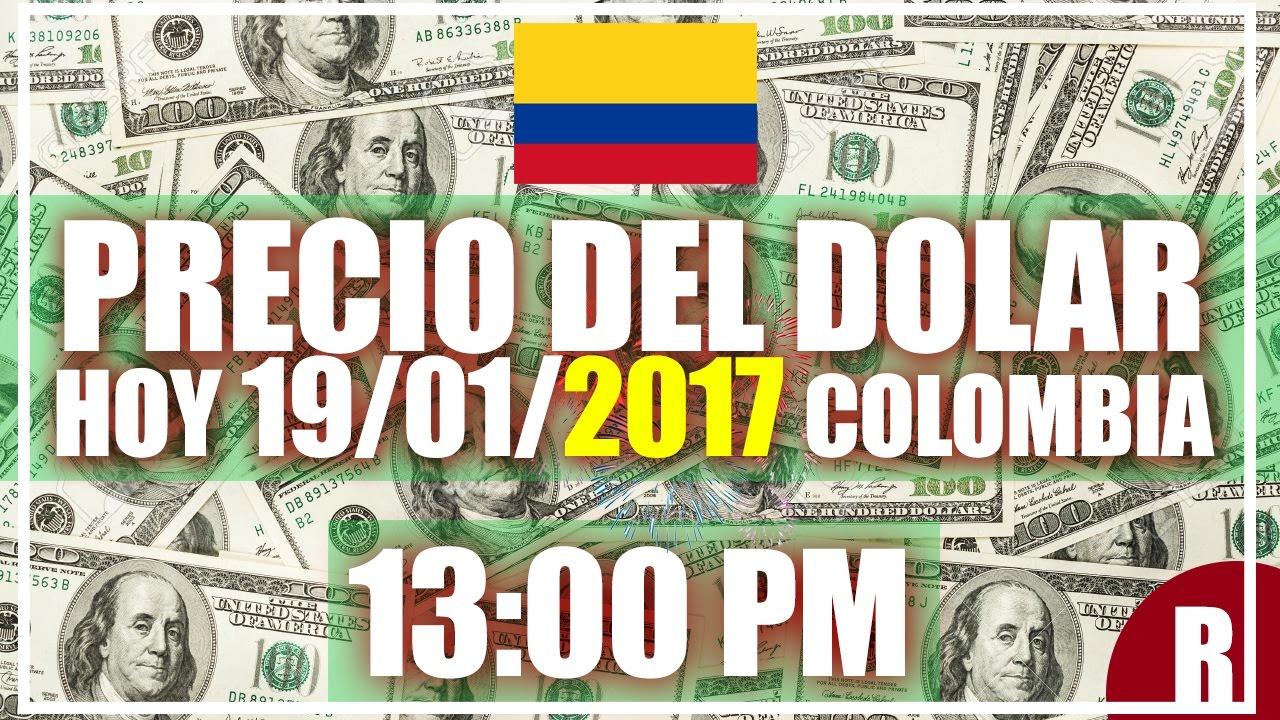Precio Del Dolar Hoy En Colombia 19 De Enero 2017