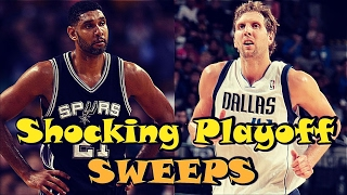 5 Recent NBA Playoff Sweeps NOBODY SAW COMING