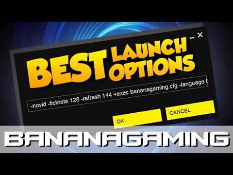 CS:GO - THE BEST LAUNCH OPTIONS