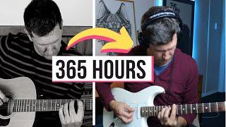 Adult 1 Year Begİnner Guitar Progress (Through Online Lessons)