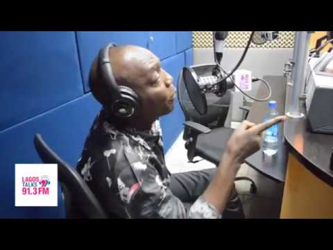 Dede Mabiaku almost walks out on interview with Femi Adesina - LagosTalks 91.3 FM