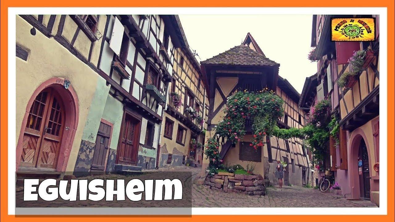 Eguisheim El Pueblo Circular Típico De Cuento Alsacia 6 Francia France