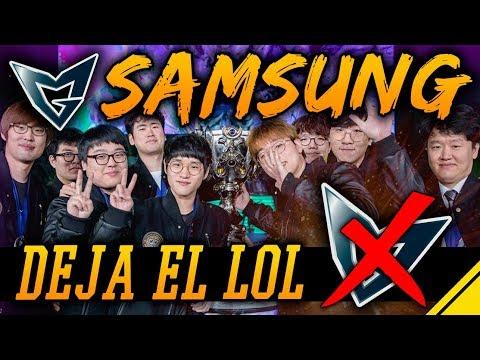 SAMSUNG deja el LOL, regresos muy esperados en SKT | Noticias League Of Legends LoL