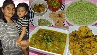 #Indian Mommy Dinner Vlog: Coriander & Mint Chutney, Turai & Tinda Subzi | Real Homemaking