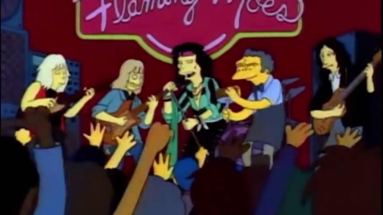 Aerosmith em ''Os Simpsons'' - YouTube