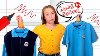 Обзор школьной формы или влог Back to school от VD Dasha