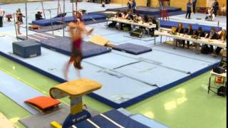 Nora Neufeld, Sprung, POYC - Pre-Olympic-Youth-Cup 2016