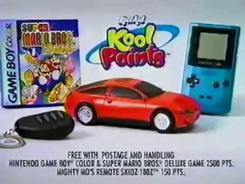 super mario bros deluxe game boy colour kool aid tv commercial
