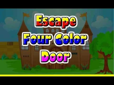 escape four color door walkthrough  sc 1 st  YouTube & escape four color door walkthrough - YouTube pezcame.com