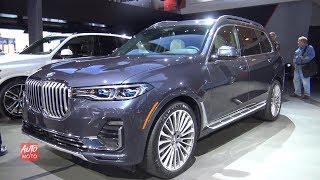 2019 BMW X7 xDrive 50i - Exterior And Interior Walkaround - 2018 LA Auto Show