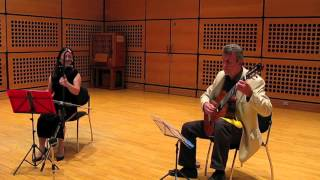 Chinese Folk Song - Erhu - Guitar - Ling Peng - Nick Fletcher