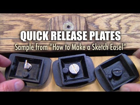 Quick Release Plates and Artist's Easels