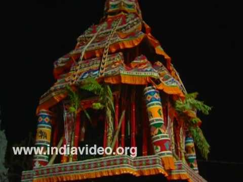 The car festival at Suchindram, Kanyakumari