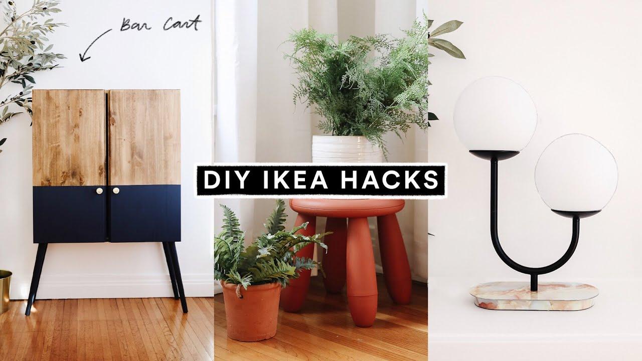 DIY IKEA HACKS   Affordable DIY Room Decor + Furniture Hacks for 12
