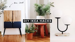 DIY IKEA HACKS - Affordable DIY Room Decor + Furniture Hacks for 2020