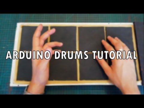 Arduino Drums Tutorial Part 1 - Overview