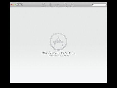 Cannot connect to app store on my imac