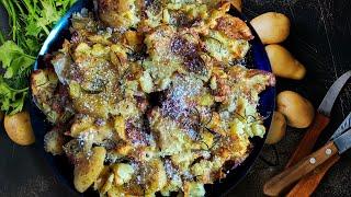 Секретный рецепт хрустящей картошки в духовке