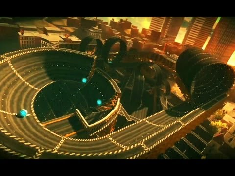 Ridge Racer Unbounded - PS3 / X360 / PC - Basic and Advanced City Editor