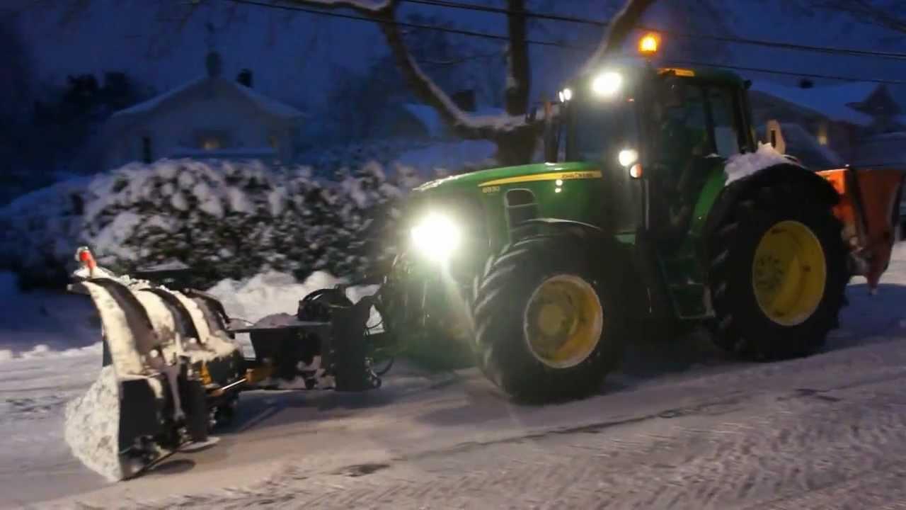 John Deere Snow Plow : John deere case d xt volvo l f snowremoval