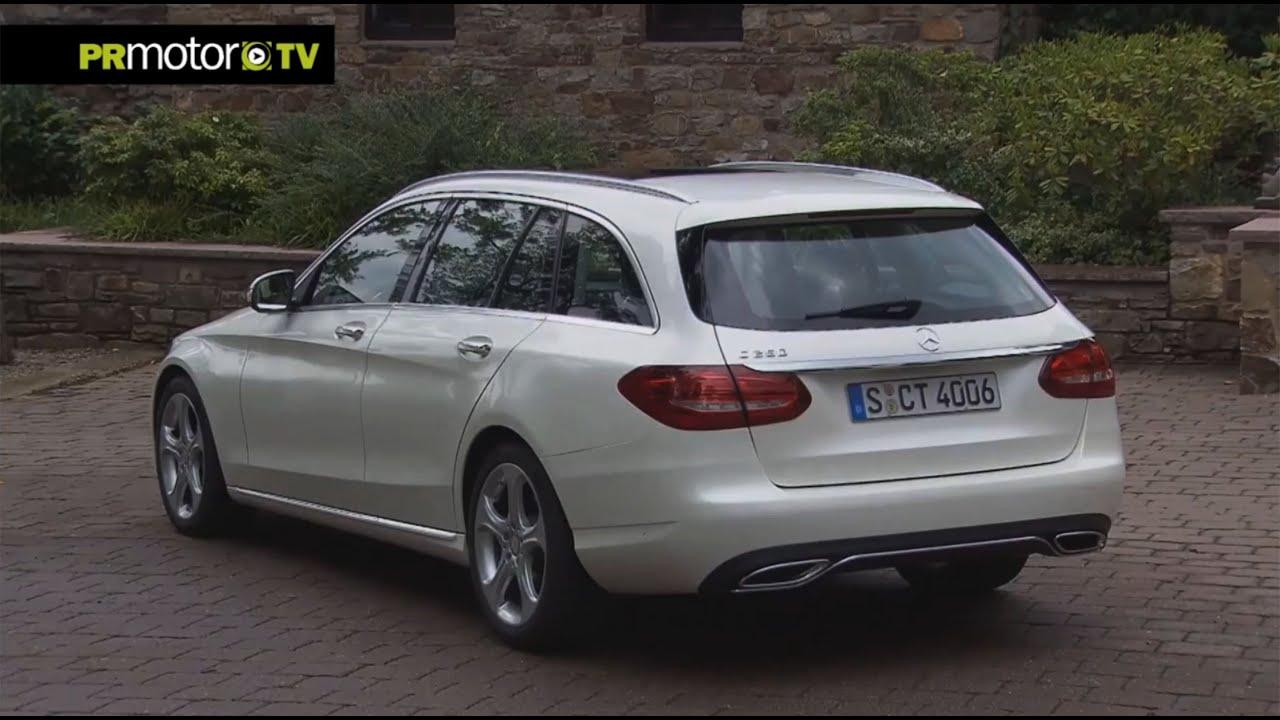 Nuevo mercedes benz clase c station wagon car news tv en for Mercedes benz clase c