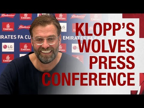 Jürgen Klopp's pre-FA Cup press conference | Wolves