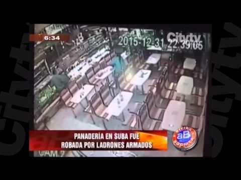 Panadería robada en Suba | CityTv | Arriba Bogotá | enero 7