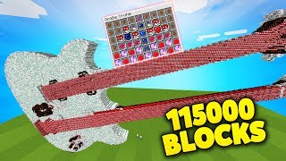 GIGANTISCHSTE GITARRE LUCKY BLOCKS BATTLE