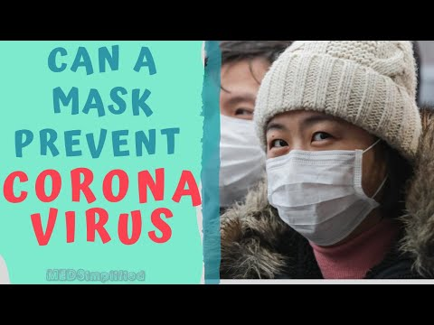 CAN WEARING A FACE MASK PROTECT FROM CORONAVIRUS??