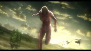 Shingeki no Kyojin Attack on  Titan - Mysterious Female Titan Appears