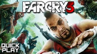 Quick Play - Far Cry 3 - Review and Gameplay Mission 1 (PC, XBox 360, PS3)