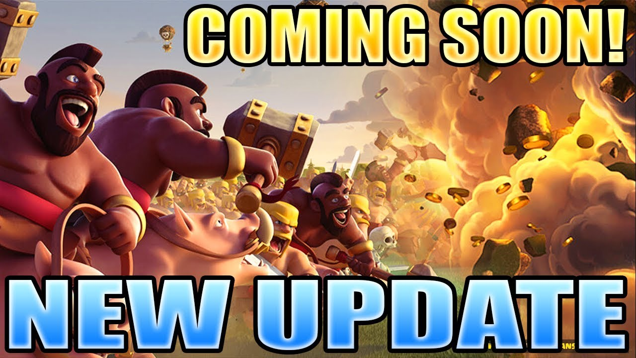 Clash of Clans | New Update Coming Soon! - Missing Builder ...