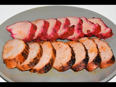 Pork Tenderloin On The Grill – BBQ Pork Tenderloin – Weber Kettle Grill