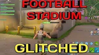Hilarious Glitch Fortnite Battle Royale - Glitch In New Football stadium - Fortnite Battle Royale