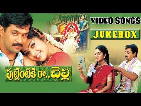 Puttintiki Ra Chelli Telugu Movie Video Songs Jukebox || Arjun, Meena