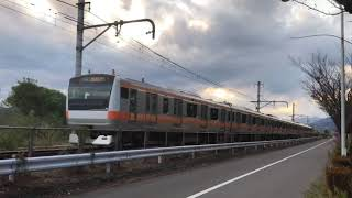 JR五日市線 武蔵引田から武蔵五日市方面走行シーン