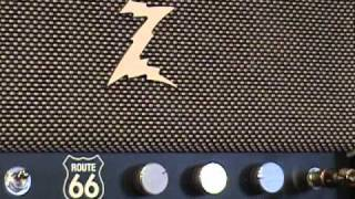 DR Z Route 66 amplifier demo with Kingbee Tele and Z Best 212 Cabinet