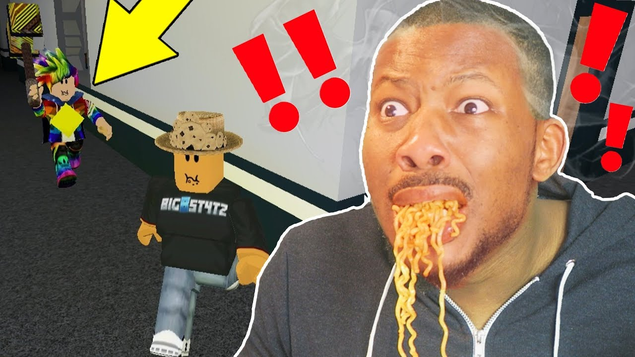I Eat Spicy Noodles If I Get Caught Roblox Flee The Facility