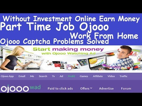 Part Time Job Ojooo l Without Investment Online Earn Money l Ojooo  Paid to click ads l Ojooo App