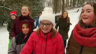 Groningen geniet van de sneeuw
