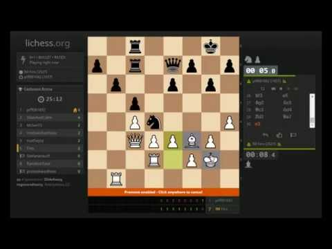 Bullet Chess #167: [Tournament] 3-second chess!