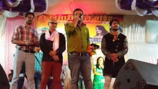 Mehandi Lagake Rakhna Bhojpuri Movies Stage Promotion
