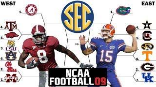 SEC Tournament (SEC East Round 1) NCAA Football 2009