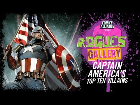10 Greatest Captain America Villains - Rogues' Gallery
