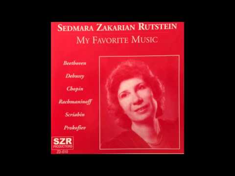 Sedmara Zakarian Rutstein - Beethoven Rondo in C major, Op.51, No.1