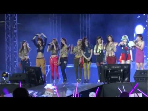 [Fancam] Girl's Generation (1/2) @ Dream K-Pop Fantasy Concert in the Philippines 20130119