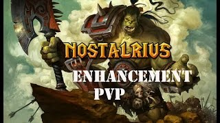 Nostalrius Begins 1.12.1 Level 60 Enhancement Shaman PvP - Windfury Galore