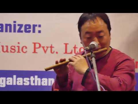 LIVE SO    Nagendra Rai By Gothale Lok Dhun    Folk Music Flute    2017