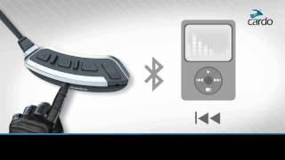 How to use MP3 player functions on the Cardo SHO-1